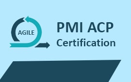 PMI® - AGILE CERTIFIED PRACTITIONER TRAINING